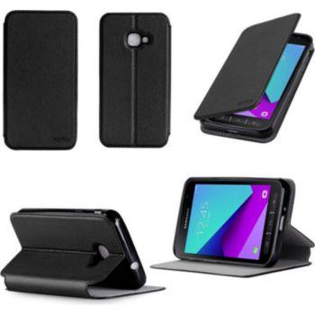 Xeptio Etui Samsung Galaxy Xcover 4S 4G noir