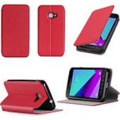 Housse Xeptio Etui Samsung Galaxy Xcover 4S 4G rouge