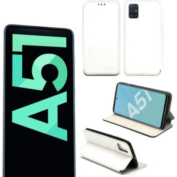 Xeptio Samsung Galaxy A51 Etui blanc Slim