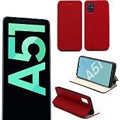 Etui Xeptio Samsung Galaxy A51 Etui rouge Slim