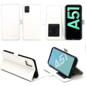 Xeptio Samsung Galaxy A51 portefeuille blanc
