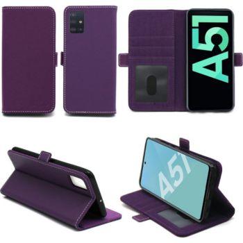 Xeptio Samsung Galaxy A51 portefeuille violet