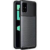 Coque Xeptio Samsung Galaxy A51 New carbone noir