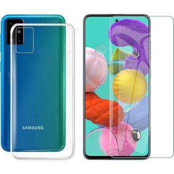 Xeptio Samsung Galaxy A51 gel tpu et vitre