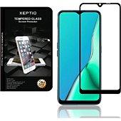 Protège écran Xeptio Oppo A5 2020 vitre noir