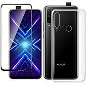 Protège écran Xeptio Huawei P Smart Z gel tpu et full noir