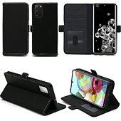 Housse Xeptio Samsung Galaxy S20 portefeuille noir