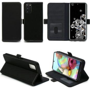 Xeptio Samsung Galaxy S20 portefeuille noir