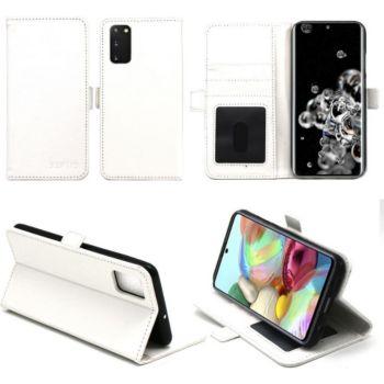 Xeptio Samsung Galaxy S20 portefeuille blanc
