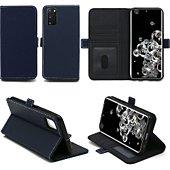 Housse Xeptio Samsung Galaxy S20 portefeuille bleu