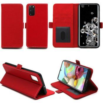 Xeptio Samsung Galaxy S20 portefeuille rouge