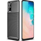 Coque Xeptio Samsung Galaxy S20 PLUS New carbone noir