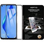 Protège écran Xeptio Huawei P40 LITE vitre noir