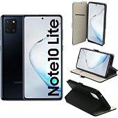 Housse Xeptio Galaxy Note 10 LITE Etui noir