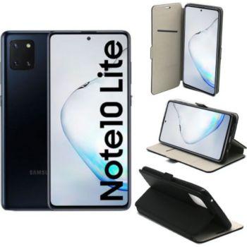 Xeptio Galaxy Note 10 LITE Etui noir