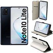Housse Xeptio Galaxy Note 10 LITE Etui blanc