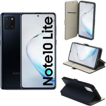 Xeptio Galaxy Note 10 LITE Etui bleu