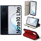 Housse Xeptio Galaxy Note 10 LITE Etui rouge