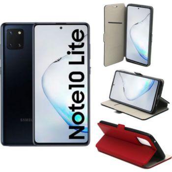 Xeptio Galaxy Note 10 LITE Etui rouge