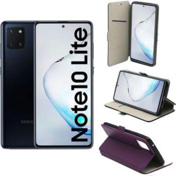 Xeptio Galaxy Note 10 LITE Etui violet