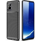 Coque Xeptio Galaxy Note 10 LITE brosée noire
