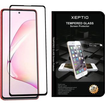 Xeptio Galaxy Note 10 LITE vitre noir