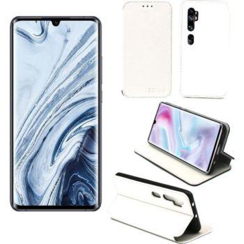 Xeptio Xiaomi Mi 10 portefeuille blanc