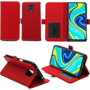 Xeptio Xiaomi Redmi Note 9S rouge