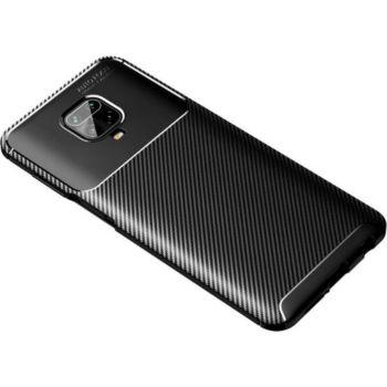 Xeptio Xiaomi Redmi Note 9S New carbone noir
