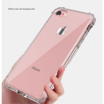 Shot Case IPHONE SE 2020 Coque ROSE Anti-Choc+Film