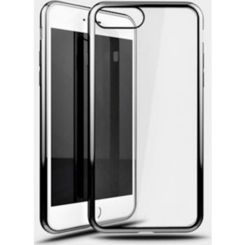 Shot Case IPHONE 7+ Coque Chrome GRIS + Film