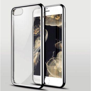 Shot Case IPHONE SE 2020 Coque Chrome GRIS + Film