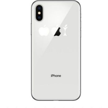 Shot Case IPHONE X Coque Trognon de Pomme + Film