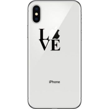 Shot Case IPHONE Xs Coque Love + Film