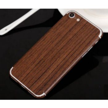 Shot Case Sticker IPHONE SE 2020 Bois CHENE FONCE