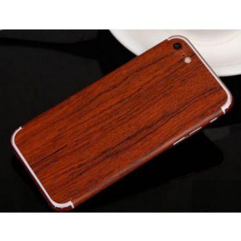 Shot Case Sticker IPHONE SE 2020 Effet Bois ACAJOU