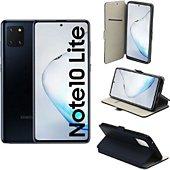 Housse Xeptio Galaxy Note 10 LITE Etui bleu
