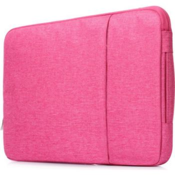 "Shot Case Sacoche Effet Jean 15"" PC Protect ROSE"
