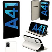 Housse Xeptio Samsung Galaxy A41 Etui blanc