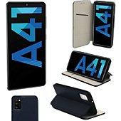 Housse Xeptio Samsung Galaxy A41 Etui bleu