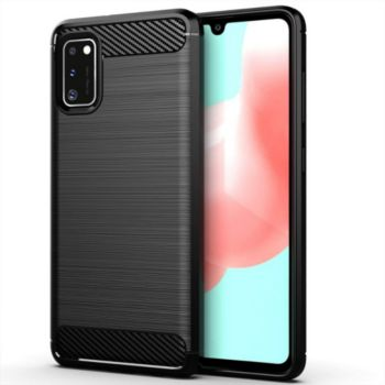 Xeptio Samsung Galaxy A41 carbone noir