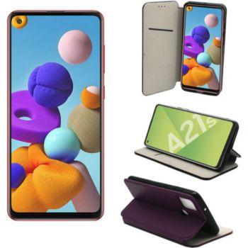 Xeptio Samsung Galaxy A21s portefeuille violet