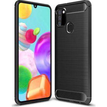 Xeptio Samsung Galaxy A21s carbone noir