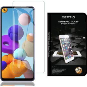 Xeptio Samsung Galaxy A21s verre trempé