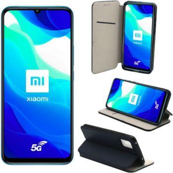 Xeptio Xiaomi Mi 10 Lite portefeuille bleu