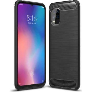 Xeptio Xiaomi Mi 10 Lite carbone noir