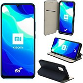 Housse Xeptio Xiaomi Mi 10 Lite 5G portefeuille bleu