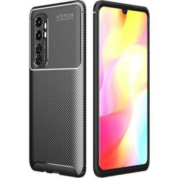 Xeptio Xiaomi Mi Note 10 Lite New carbone noir