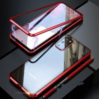Shot Case Coque Verre Trempe SAMSUNG S20+ ROUGE