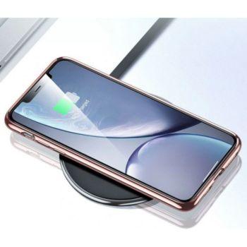 Shot Case Chrome Silicone SAMSUNG Galaxy A11 ROSE